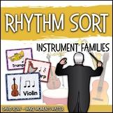 Rhythm Centers and Composition Rhythm Sort - Instrument Edition