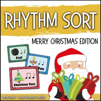 Rhythm Sort - Merry Christmas Edition for Rhythm Centers a