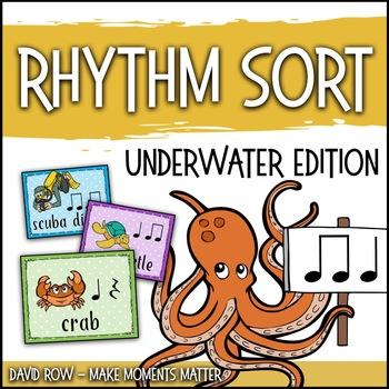 Rhythm Sort - Ocean Animal Edition for Rhythm Centers and Composition