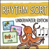 Rhythm Centers and Composition Rhythm Sort - Ocean Animal Edition