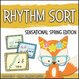 Rhythm Sort - Sensational Spring Edition for Rhythm Centers and Composition