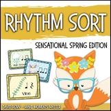 Rhythm Centers and Composition Rhythm Sort - Sensational Spring Edition