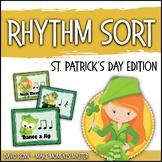 Rhythm Centers and Composition Rhythm Sort - St. Patrick's Day Edition