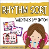 Rhythm Centers and Composition Rhythm Sort - Valentine's Day Edition