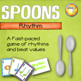 Rhythm Spoons Game - Music Centers & Sub Activities