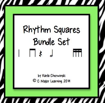 Rhythm Squares Bundle Set