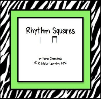 Rhythm Squares ta ti-ti (Quarter note, 2 eighths)