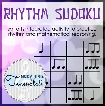 Rhythm Sudoku - Interactive Smart Notebook