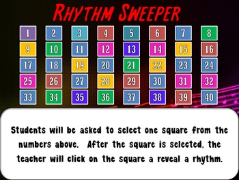 Rhythm Sweeper