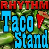 Rhythm Taco Stand - Notes & Rests - Elementary Music Game