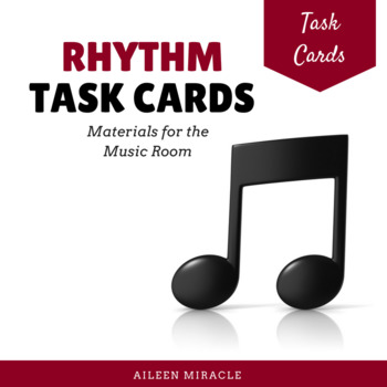 Rhythm Task Cards