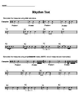 Rhythm Test