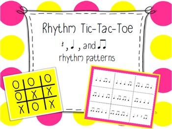 Rhythm Tic Tac Toe
