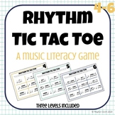 Rhythm Tic-Tac-Toe! A Rhythm Reading Game! Levels 4-6