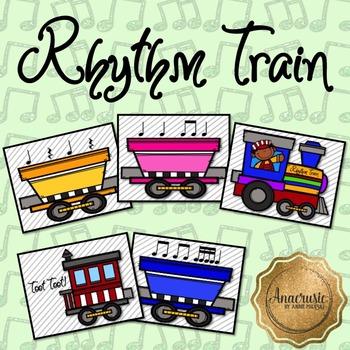 Rhythm Train Bulletin Board