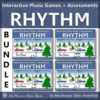 Rhythm Tree Farm - Bundle Interactive Music Games plus Assessments