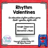 Rhythm Valentines Level 1: An interactive rhythm pattern game