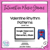 Rhythm Valentines Level 2: an interactive rhythm pattern game