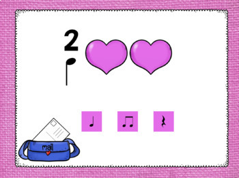 Rhythm Valentines Level 2: an interactive rhythm pattern game