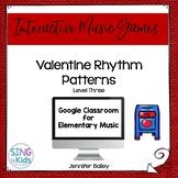 Valentine Rhythm Patterns Level 3: An Interactive Music Game