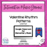 Valentine Rhythm Patterns Level 4: An Interactive Music Game