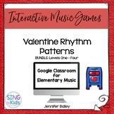 Valentine Rhythm Patterns Levels 1-4: An Interactive Music Game