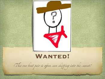Rhythm Wanted Posters PDF Version