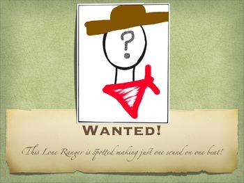 Rhythm Wanted Posters PDF Version