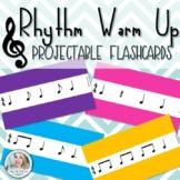 Rhythm Warm Up Projectable Flashcards