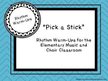 Rhythm Warm-Up Sticks
