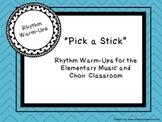 Rhythm Warm-Up Sticks