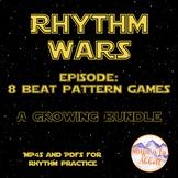 Rhythm Wars, 8 Beat Games {A Growing Bundle of MP4s & PDFs}