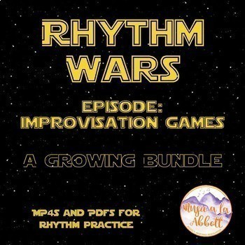 Rhythm Wars: Improvisational Games Set {Bundled Set}