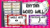 Rhythm Word Wall