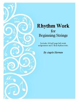 Rhythm Work for Beginning Strings