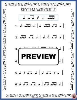 MUSIC Worksheet: Music Rhythm Workout - Free Download by ...