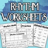 Rhythm Worksheet Bundle