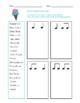 Rhythm Worksheet Bundle 2