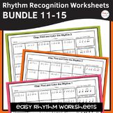 Rhythm Worksheets Bundle - Sets 11-15