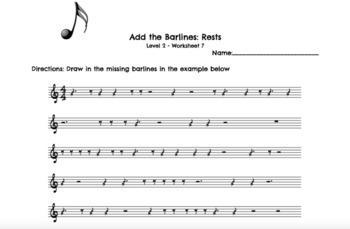 Rhythm Worksheets Level 2