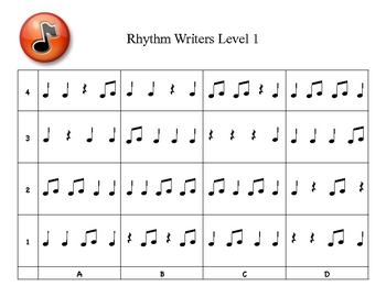 Rhythm Writers Level 1
