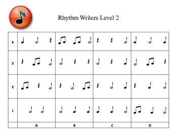 Rhythm Writers Level 2