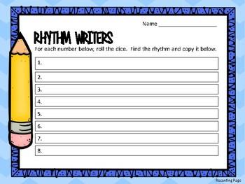 Rhythm Writers/Level 2