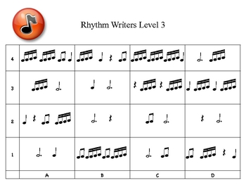 Rhythm Writers Level 3