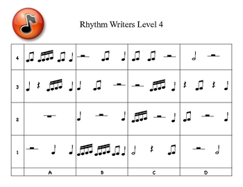 Rhythm Writers Level 4