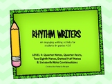 Rhythm Writers/Level 4