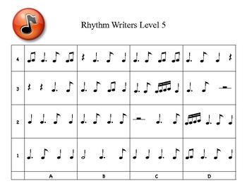 Rhythm Writers Level 5