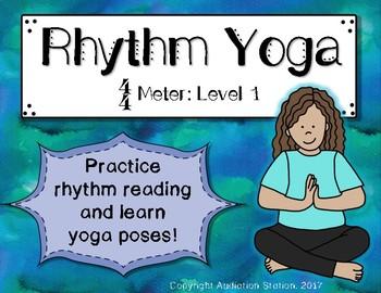 Rhythm Yoga {Rhythm and Movement Activity} Level 1 4/4