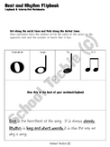 Rhythm and Beat Flipbooks for Interactive Notebook or Lapbook