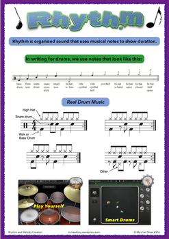 Rhythm and Melody with Technology